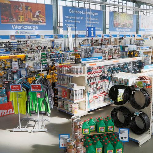 Baufachmarkt - Bauzentrum Mittenwalde
