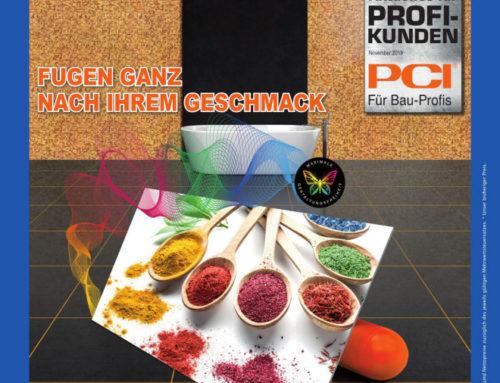 PCI Durapox® Premium Multicolor – 390 Farben für Ihre Fliesenfugen