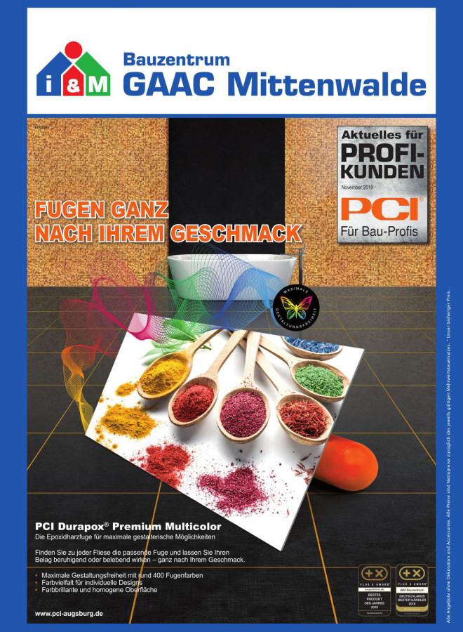 PCI Durapox Multicolor Fugen