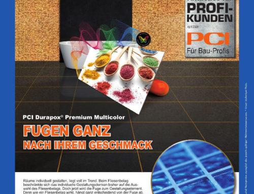 PCI Durapox® Premium Multicolor – Raumgestaltung neu gedacht