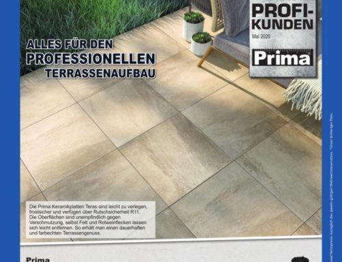 Prima – Terrassen professionell und schnell realisieren