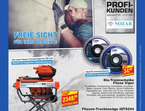 NOZAR – Profi-Diamantwerkzeuge für Ihre Baustelle