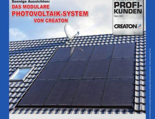 Creaton – dachintegrierte Photovoltaik-Anlage mit unzähligen Vorteilen