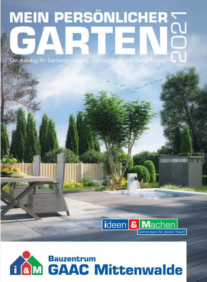 Gartenkatalog 2021 Bauzentrum Mittenwalde