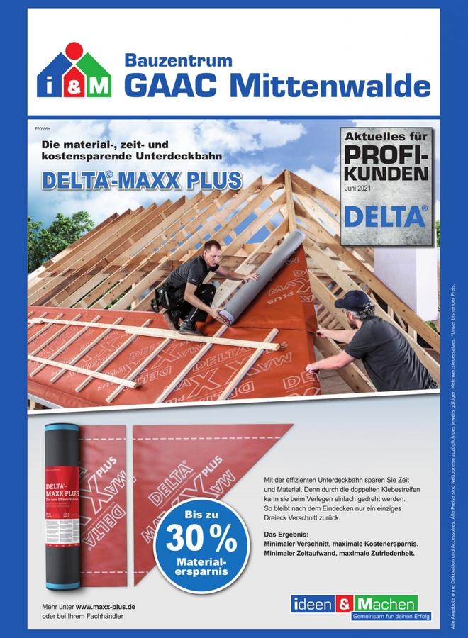 Delta maxx plus Unterdeckbahn