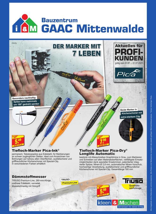 TRIUSO Angebote Bauzentrum Mittenwalde