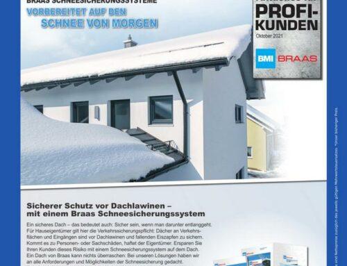 Braas – Sicherheit rund ums Dach